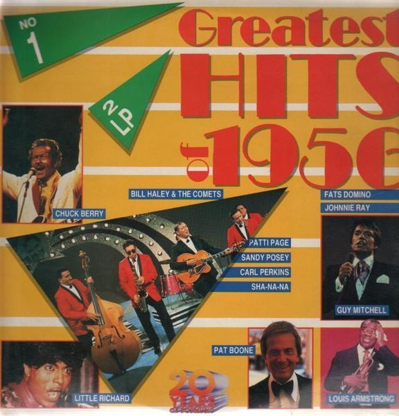 #<Artist:0x007fd74cf1d878> - Greatest Hits Of 1956