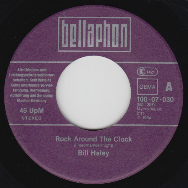 #<Artist:0x007f3b110ada18> - rock around the clock / see you later alligator
