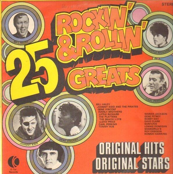 #<Artist:0x007ff57daf2bc8> - 25 Rockin' & Rollin' Greats
