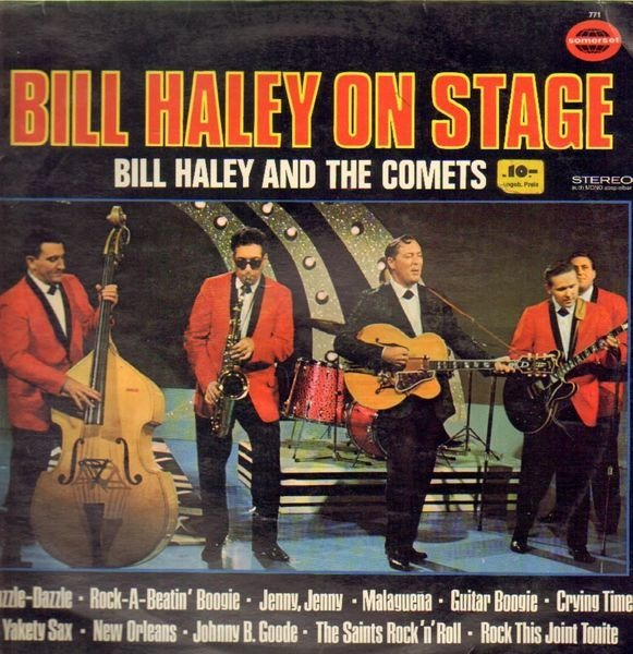 #<Artist:0x00000006ce5f30> - Bill Haley On Stage