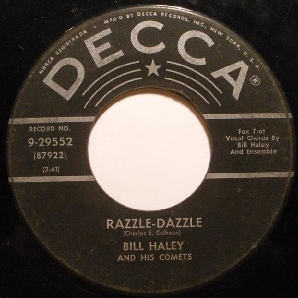 #<Artist:0x007f7aa2b0c8f8> - Razzle-Dazzle / Two Hound Dogs