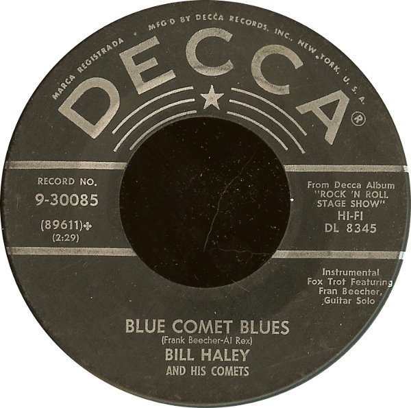 #<Artist:0x007f1bd6c89c38> - Rudy's Rock / Blue Comet Blues