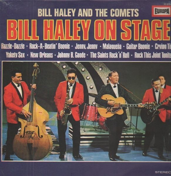 #<Artist:0x007f91451eb148> - Bill Haley On Stage