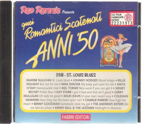BILLIE HOLIDAY, NINA SIMONE, MILES DAVIS, A.O. - St. Louis Blues - CD