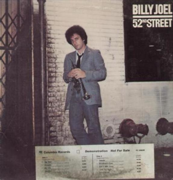 billy joel - 52nd Street (prerelease Issue)