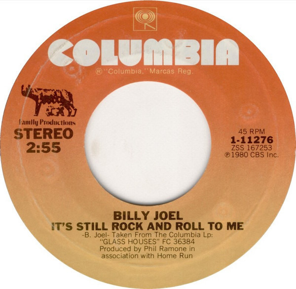 billy joel its still rock Hot funk, cool punk, even if it's old junk it's still rock and roll to me oh, it doesn't matter what they say in the papers 'cause it's always been the same old scene there's a new band in town but you can't get the sound from a story in a magazine.
