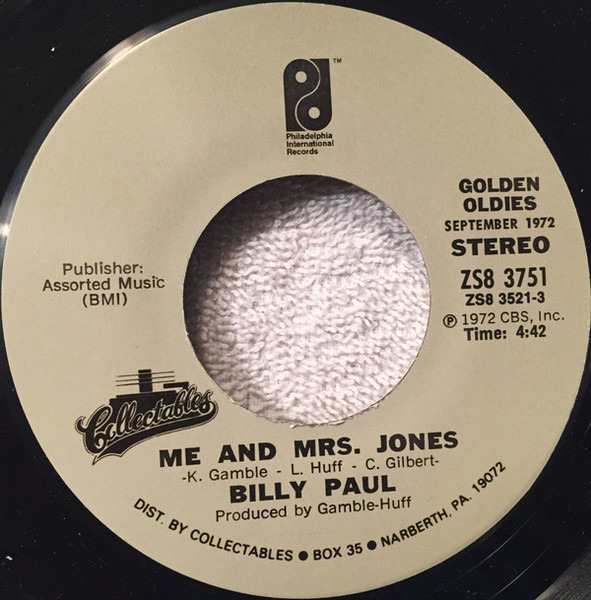 #<Artist:0x007f9549444450> - This Is Your Life / Me And Mrs. Jones