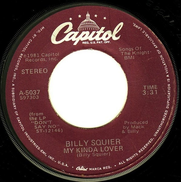 billy squier my kinda lover christmas is the time to say i love you - Christmas Is The Time To Say I Love You