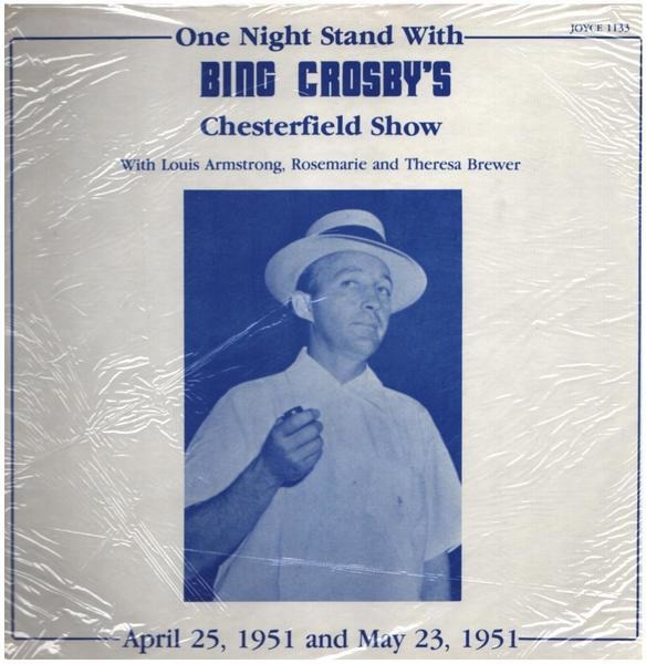 #<Artist:0x000000000689f6b0> - One Night Stand With Bing Crosby's Chesterfield Show