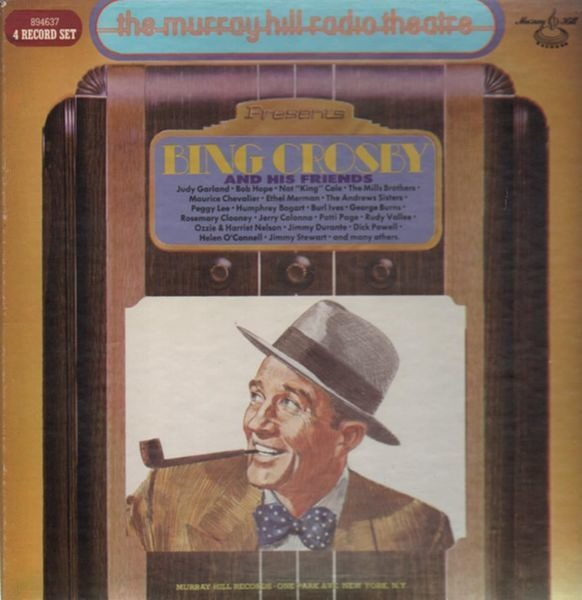 BING CROSBY, JUDY GARLAND, NAT KING COLE,.. - Bing Crosby And His Friends - LP x 4