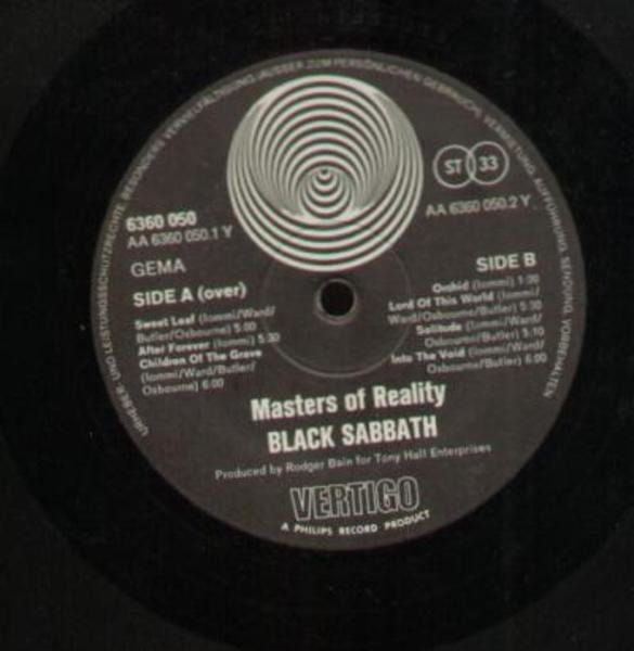 #<Artist:0x007fca43884810> - Master of Reality