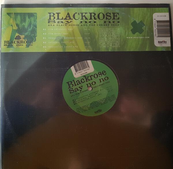 BLACKROSE - Say No No - Maxi x 1