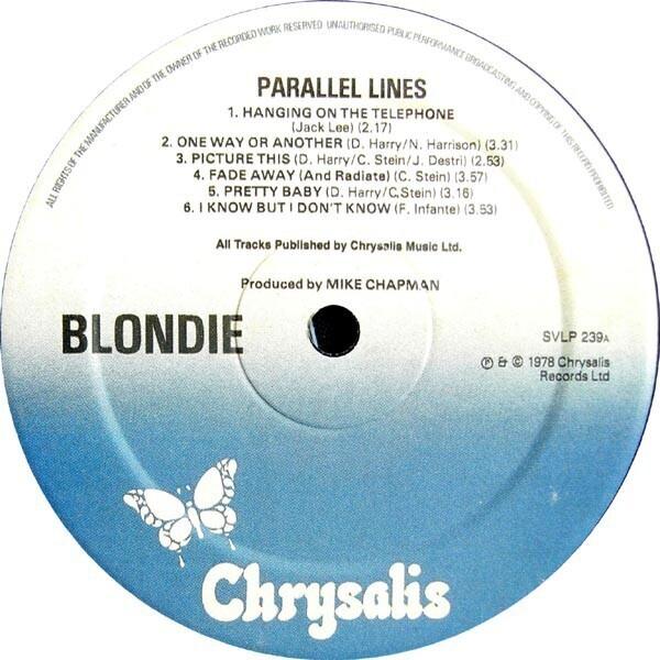 #<Artist:0x007fafb48681f0> - Parallel Lines