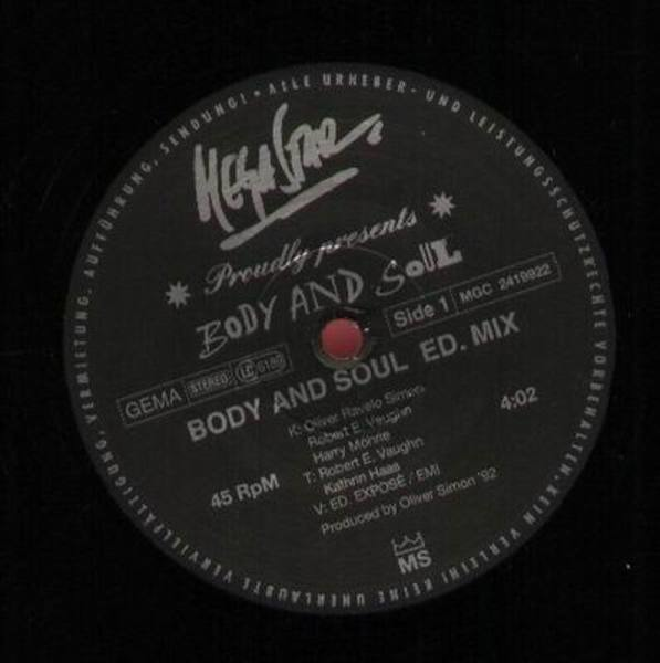 division of the body and soul in Body and soul is massive techy stormer starts out slowly, goes into a vocal break, then comes back with double the intensity complex, techy drums keep things rolling up high while the trademark peace division bassline kills the dancefloor.