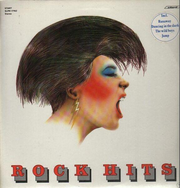 BON JOVI, THE CARS, ALPHAVILLE ... - Rock Hits - 33T