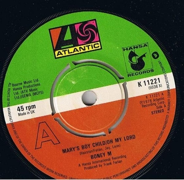 Boney M. Mary's Boy Child / Oh My Lord / Dancing in the Streets