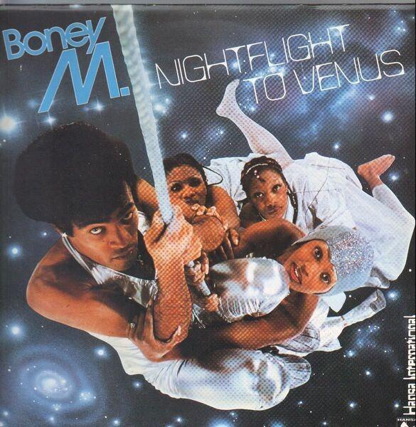 BONEY M. - Nightflight To Venus (POSTCARDS) - 33T