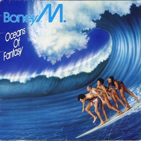 BONEY M. - Oceans Of Fantasy (CLUB EDITION) - 33T