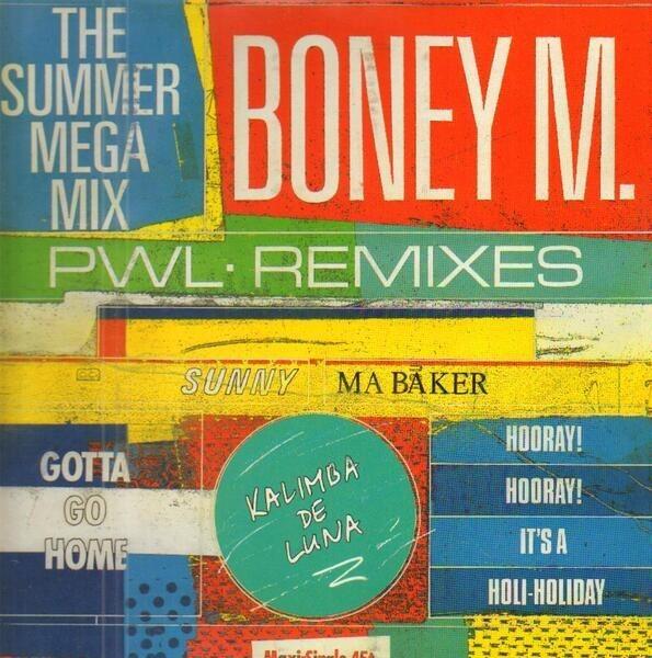 BONEY M. - The Summer Mega Mix (PWL Remixes) - Maxi x 1