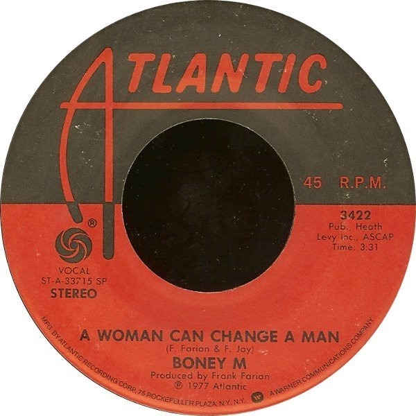 Boney M. Ma Baker / A Woman Can Change A Man