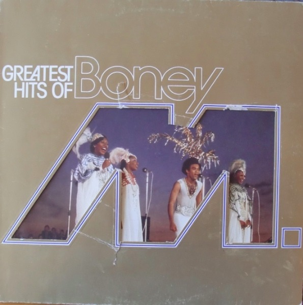 BONEY M. - Greatest Hits Of Boney M. (DIE-CUT SLEEVE) - 33T