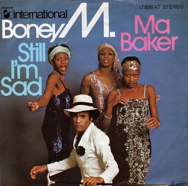 BONEY M. - Ma Baker / Still I'm Sad - 45T x 1