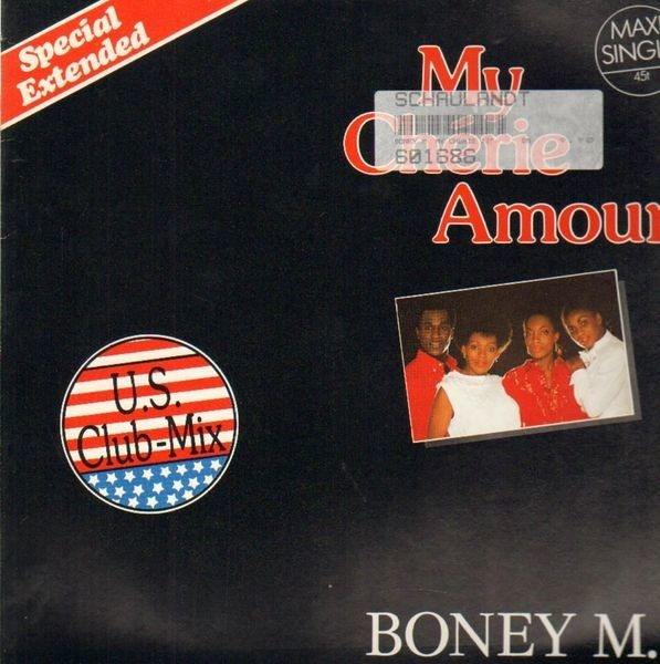 BONEY M. - My Chérie Amour (U.S. Club-Mix - Special Extended) - Maxi x 1