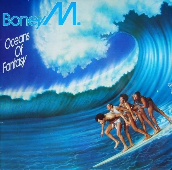 BONEY M. - Oceans Of Fantasy (FOURTH EDITION) - 33T