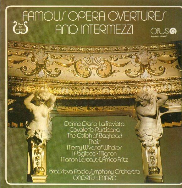 #<Artist:0x00007f4e0d63cc68> - Famous Operatic Overtures and Intermezzi