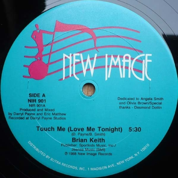 brian keith touch me (love me tonight) (still sealed)