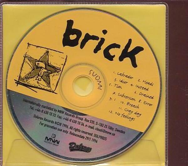 BRICK - Suomi - CD