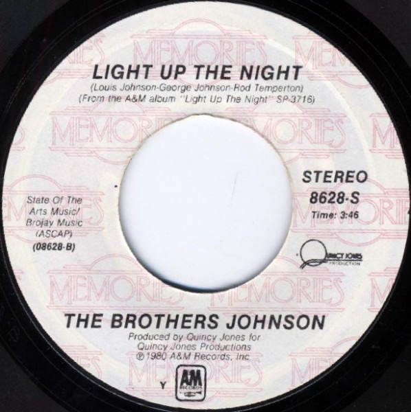 Brothers Johnson Stomp / Light Up The Night