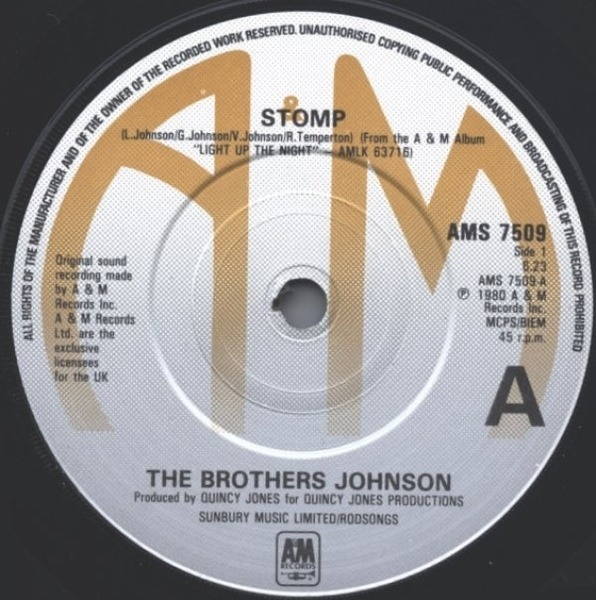 Brothers Johnson Stomp!