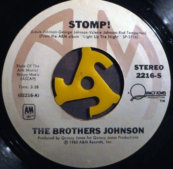Brothers Johnson Stomp! / Let's Swing