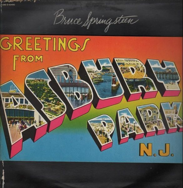 Greetings from asbury park n j bruce springsteen the e street artist0x007fae20da5c98 greetings from asbury park n j lp bruce springsteen m4hsunfo