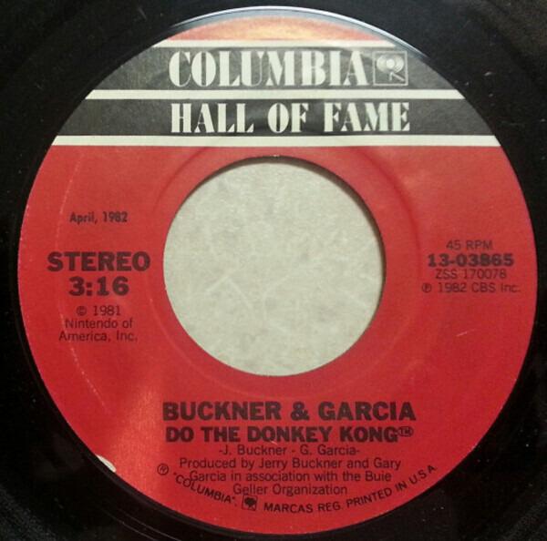 Buckner & Garcia Pac-Man Fever / Do The Donkey Kong