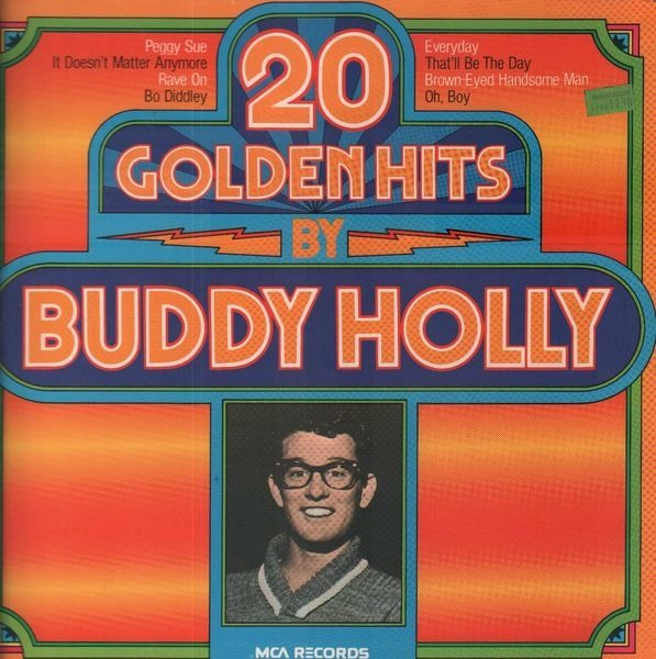 #<Artist:0x00007fd902d0ed18> - 20 Golden Hits By Buddy Holly
