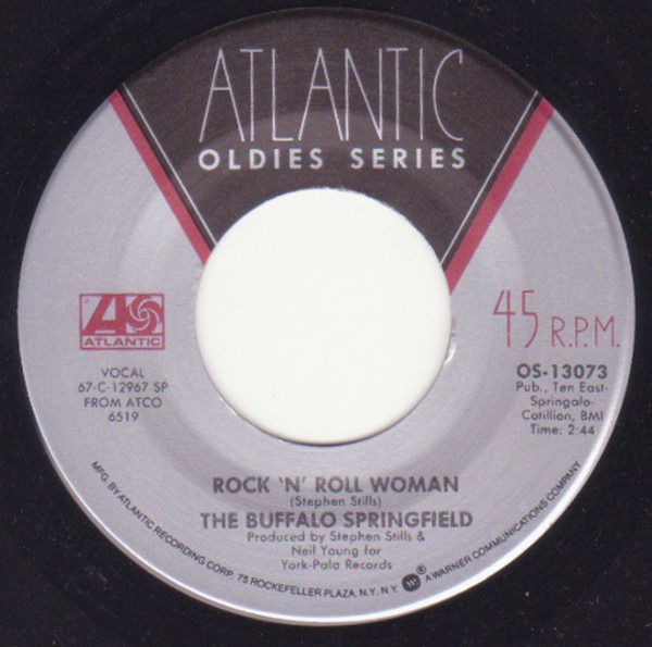 #<Artist:0x007fcf6dcbaa18> - For What It's Worth / Rock 'n' Roll Woman