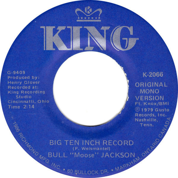 #<Artist:0x007fcf55bf15b8> - Why Don't You Haul Off And Love Me / Big Ten Inch Record