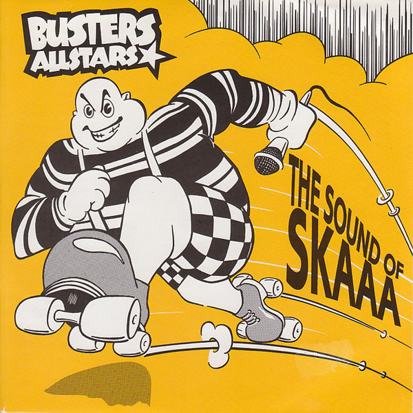 BUSTERS ALLSTARS - The Sound Of Skaaa ! - Maxi x 1