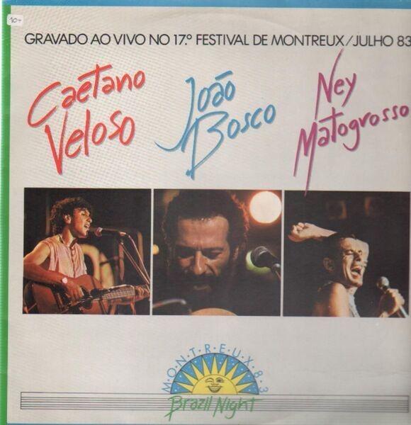 CAETANO VELOSO / JOAO BOSCO / NEY MATOGROSSO - Gravado Ao Vivo No 17 - 33T