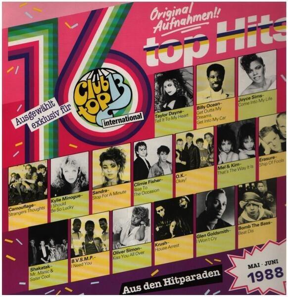 CAMOUFLAGE, KRUSH, A.O. - Die Internationalen Top Hits Mai/Juni 1988 - 33T