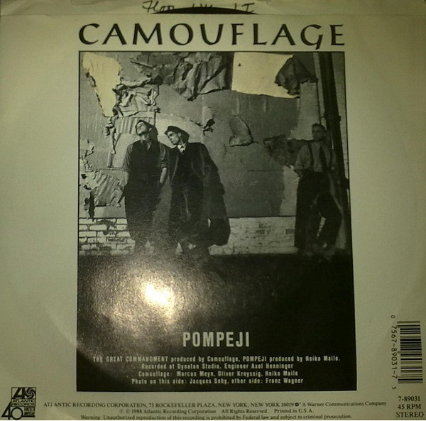 4889ccb01cf5af Camouflage The great commandment (Vinyl Records