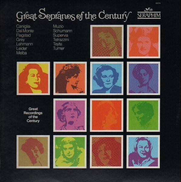 #<Artist:0x007f1776cb6850> - Great sopranos of the century