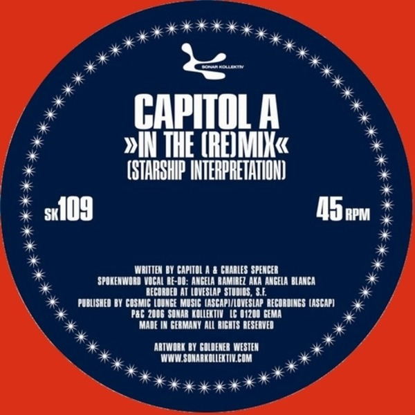 CAPITOL A / CLYDE & CAPITOL A - In The (Re)Mix / Serve It Up - Maxi x 1