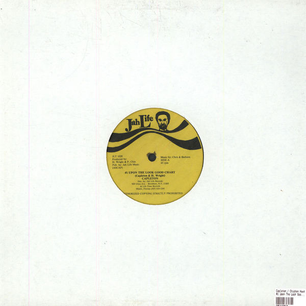 CAPLETON / CHICKEN HAWK - #1 Upon The Look Good Chart / Hawk De Pon The Mike - Maxi x 1