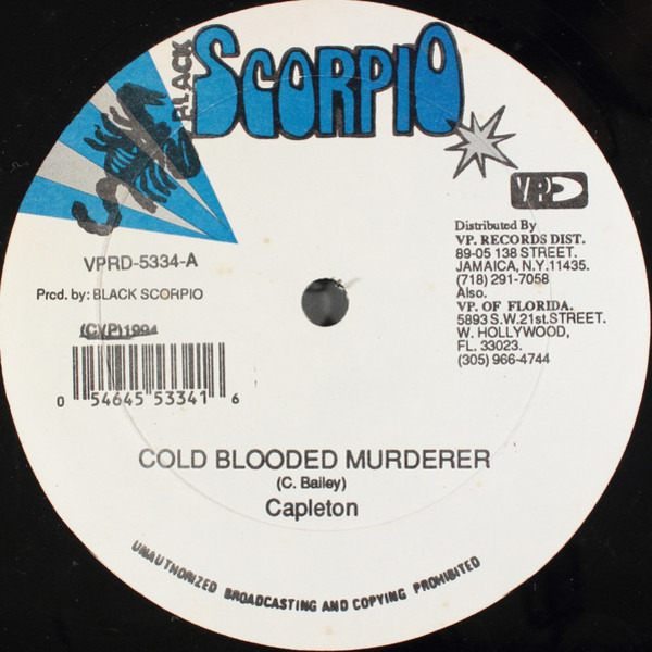 Cold Blooded Murderer / Do It To You