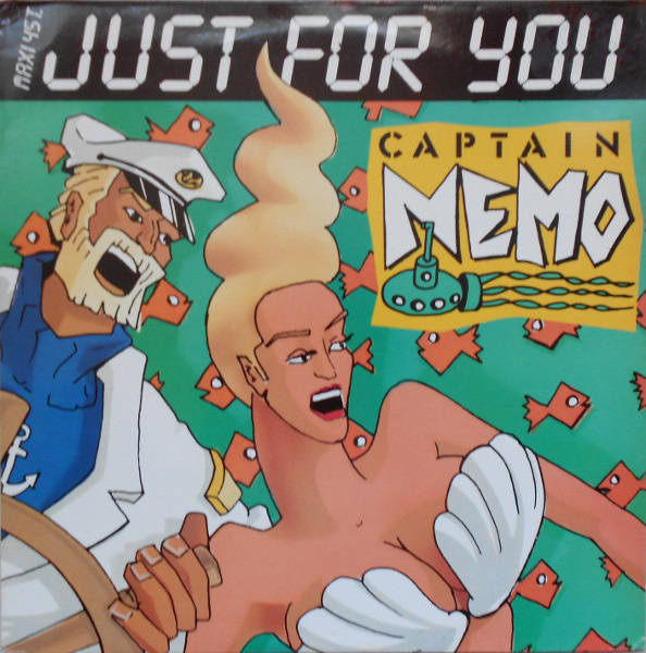 CAPTAIN NEMO - Just For You - 12 inch x 1