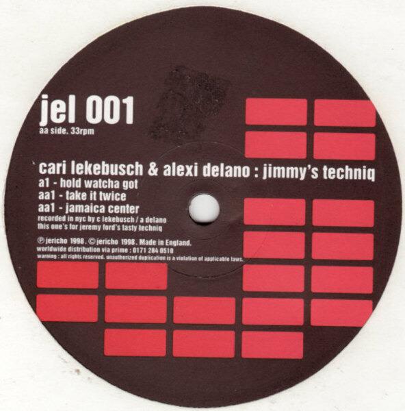 Cari Lekebusch & Alexi Delano Jimmy's Techniq
