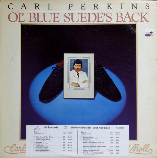 #<Artist:0x00007f4e0d441d78> - Ol' Blue Suede's Back